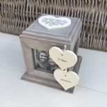 Shabby Chic PERSONALISED Rustic Wood Special Best Friend ANY NAME Photo Cube - 253969207336